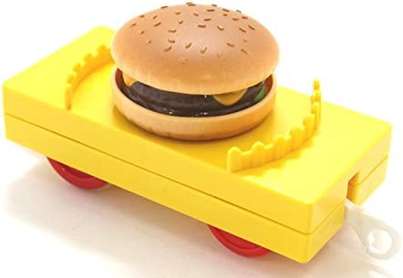 オリジナル プラレール 2015 秋 ハンバーガー貨車 黄色 非売品