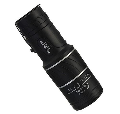 Eoncore Waterproof 30×52 Dual Focus Optic Lens Travel Monocular Scope Binoculars Telescope for Camping, Hiking, Fishing, Bird Watching, Concerts
