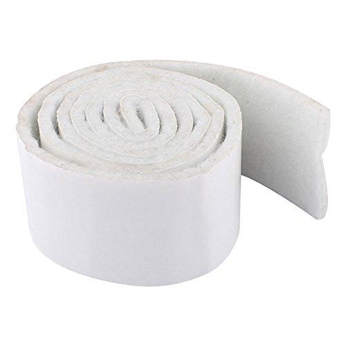 eDealMax Inicio auto-adhesivo de la Tabla Cojn Muebles de fieltro Mat 39 x 1,6 x 0,2 pulgadas en Blanco