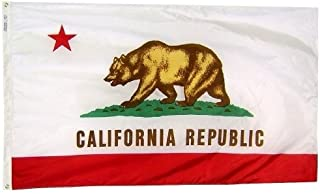 product image for All Star Flags 4x6' California Nylon State Flag - All Weather, Durable, Outdoor Nylon Flag