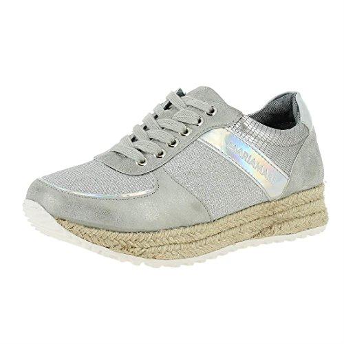Espejo 2 Lizard Women's Plata Maria Plata Iride 2 Silver Platino Fitness Neon C33044 Mare Vanda Plata Shoes qHqUF8