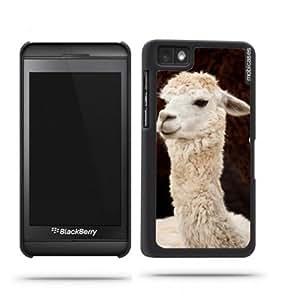 Alpaca (White) Blackberry Z10 Case - For Blackberry Z10