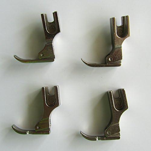 2/Right stretto incernierato cordoncino cerniera piedino per cantante fratello Consew # P36LN P36/N 2SET 2/Left