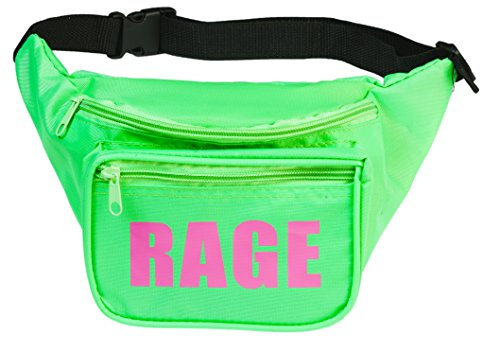 Funny Guy Mugs RAGE Fanny Pack, Neon -