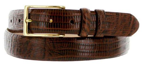 Adam Men's Genuine Italian Calfskin Leather Dress Belt 30mm or 1-1/8