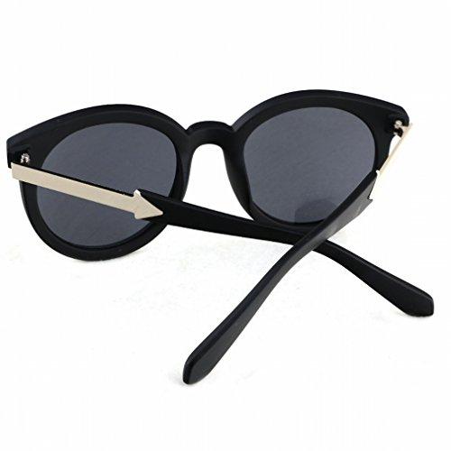 YL Lunettes de soleil extérieures rétro yeux de soleil yeux ronds yeux doux lunettes de soleil en métal 35ypTo2