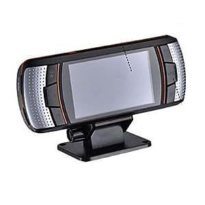 """GD lente dual de 170 grados 1080p hd 3MP cámara dash 2.7 """"dvr del coche con la visión nocturna 30fps a1"""