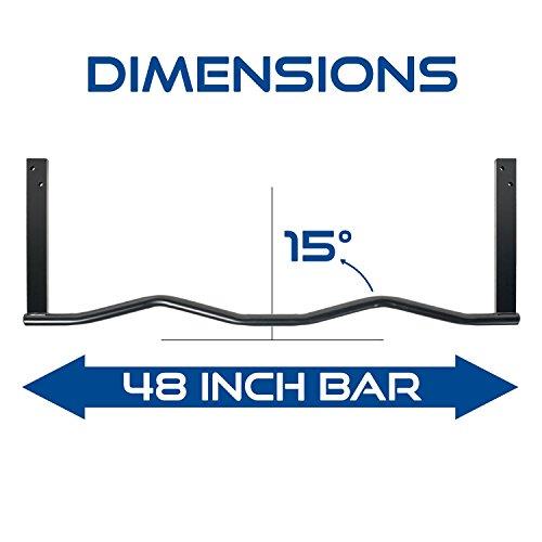 Ultimate Body Press Ergonomic Joist Mount Bar