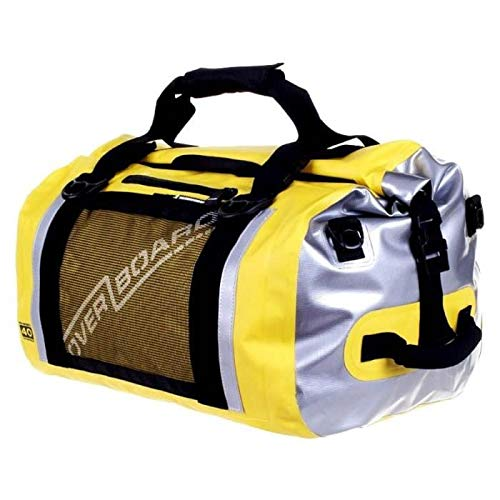 OverBoard Waterproof Pro-Sports Duffel Bag, Yellow, 40-Liter