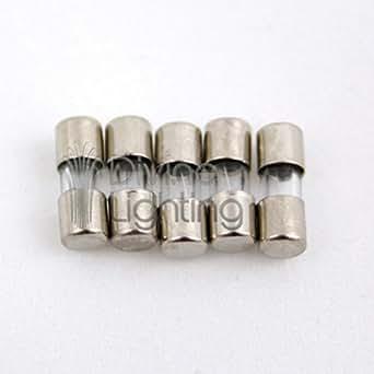 5 Qty 3 6x10mm 5a Fast Blow Fuse Fa 5 Amp 250v Mini Micro