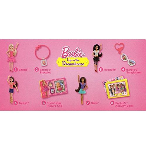 Mcdonalds 2014 Barbie Dreamhouse Set of 8 Mattel Happymeal Toys