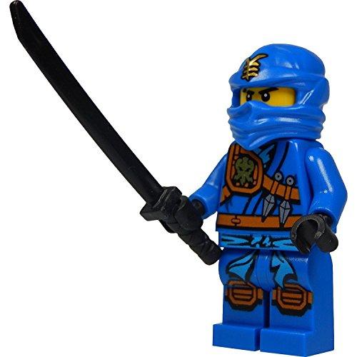 LEGO Ninjago: Jay (blue ninja) Minifigure with katana (sword) 2015 version (Blue Ninja Ninjago compare prices)