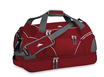 High Sierra Cross Sport Duffel Crunk Trunk Carmine Red