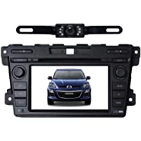 Tyso For MAZDA CX-7 (2007-2011) HD 7 Car DVD GPS Navigation Rear Camera Bluetooth Ipod Free Map CD7023R