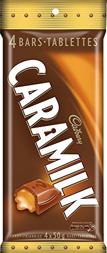 Caramilk Chocolate Bar - Cadbury Caramilk Candy, 4 Count 200g/7.05oz {Imported from Canada}