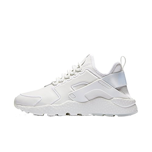 Wmns Air Huarache Run Ultra SI Summit White Summit White Blue 881100-101 (9)