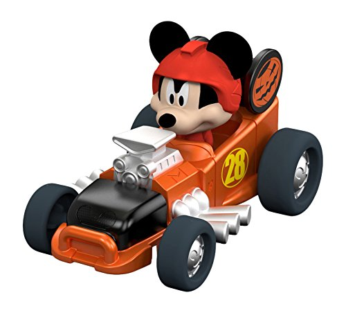 Fisher-Price Disney Junior Mickey and the Roadster Racers Mickey's Halloween Spookster Die-Cast Vehicle]()