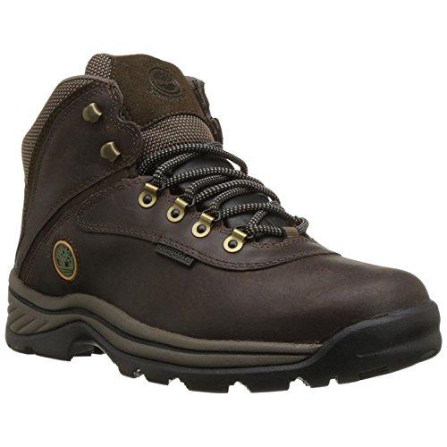 Timberland 12135 Men's White Ledge Mid WP Boot Gaucho 7.5 M US (Ledge Mid Leather)