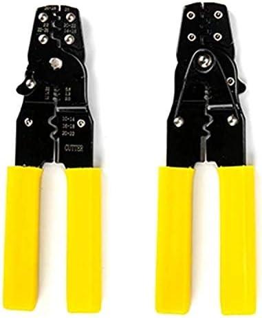 YYG-YYG 修復ツール、ストリップコールド圧着端子金具、ケーブル電動工具、2イン1圧着ギアストリッパー ペンチ