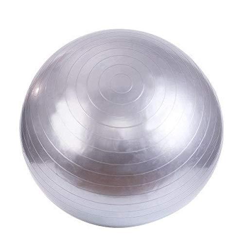 HNHM Bola de Yoga Engrosamiento Fitness Ball-Gris-Plata_Los