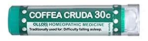 Ollois Lactose Free Homeopathic Medicines, Coffea Cruda 30C Pellets, 80 Count