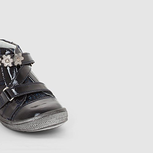 Gbb Mdchen Hohe Sneakers Mit Klett Nicoleta Gre 5 Blau