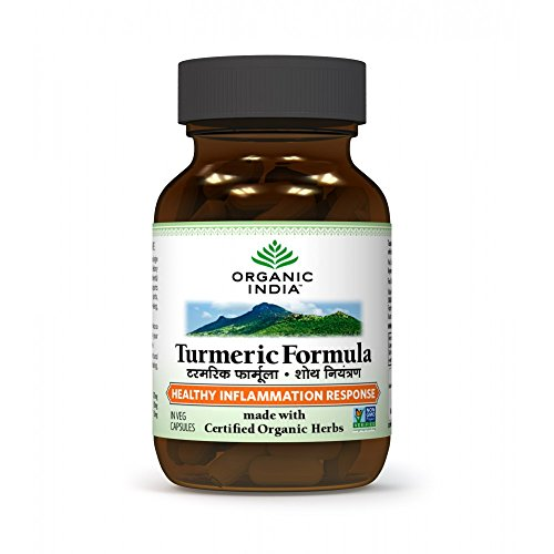 Organic Turmeric Formula Capsule Supplement product image