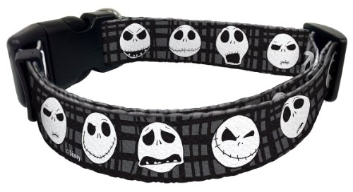 Disney 1DCLR-6 Jack Skellington Dog Collar