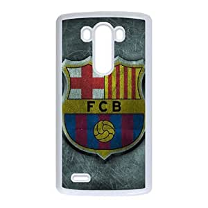 LG G3 Phone Case White Barcelona DTW8057024
