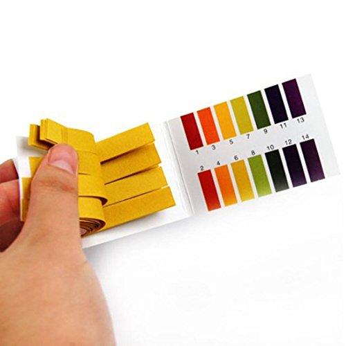Universal 160 Full Range 1-14 pH Test Paper Strips - 3