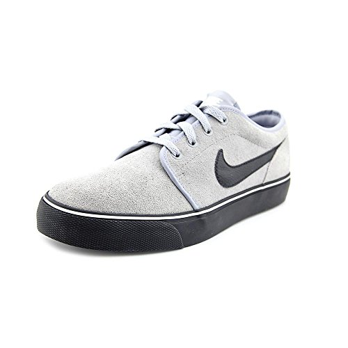 Nike Toki Low Mens Size 10.5 Gray Suede Sneakers Shoes