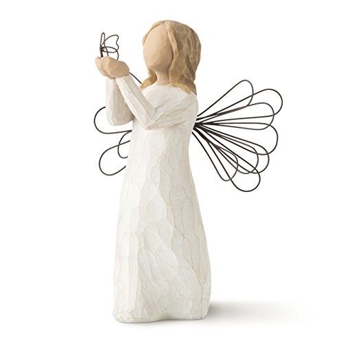 (Willow Tree Angel of Freedom, sculpted hand-painted figure)