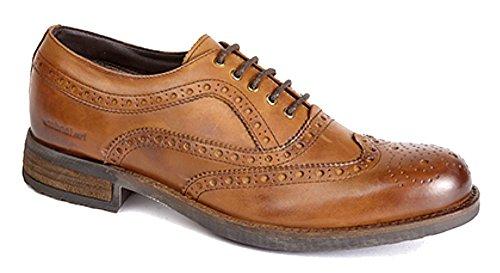 Roamer - Botas de cuero para hombre marrón - Burnished Tan