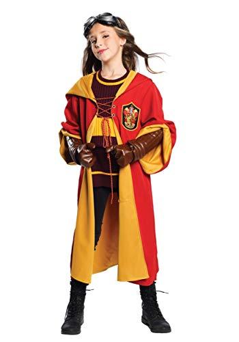 Harry Potter Quidditch Halloween Costumes (Charades Child's Harry Potter Gryffindor Quidditch Costume,)