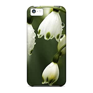 High-quality Durability Case For Iphone 5c(white Lilies Of The Valley)