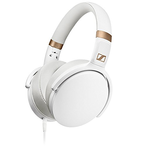 Sennheiser HD 4.30i White Around Ear Headphones (Sennheiser Folding Headphone)