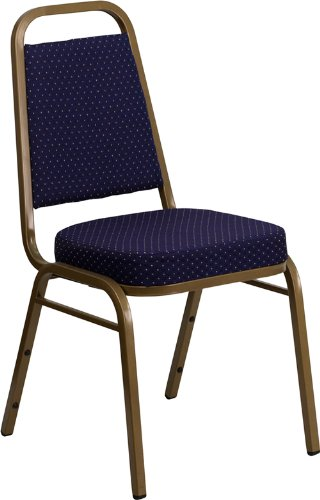 Navy Blue Stacking Chair - 8