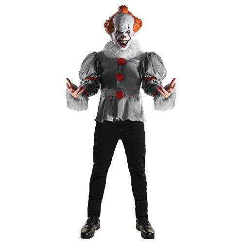 Deluxe Pennywise Costumes - Rubie's Adult Deluxe Pennywise IT