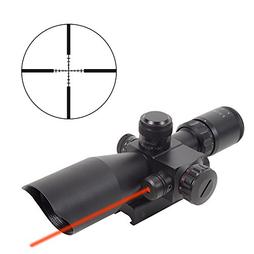 Firefield 2.5-10x40 Riflescope with Red Laser (Firefield 2-5 10x40 Riflescope With Red Laser Review)
