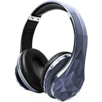 Cocoon Wireless Bluetooth Headphones with Microphone, SD Card Slot, 3.5mm Titanium