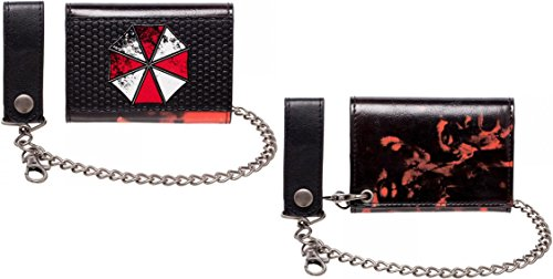 Metal Badge Chain Wallet - Resident Evil Chain Wallet