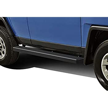 TAC Side Steps for 2007-2014 Toyota FJ Cruiser SUV Excludes models with the factory rock rails 3 Black Side Bar Nerf Bars Running Boards