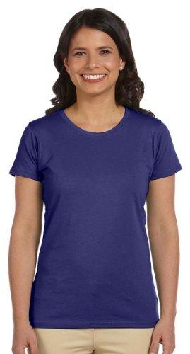 100% Organic T-shirts - econscious Ladies' 4.4 oz.; 100% Organic Cotton Classic Short-Sleeve T-Shirt - IRIS - 3XL