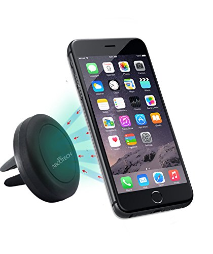 Air Vent Smartphone Car Mount w/ Magnetic 1 Step Mounting Technology - Best Cell Phone Holder for Your Car