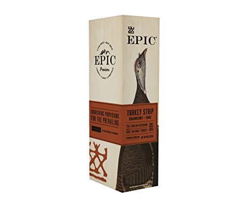 - Epic Snack Strips, Turkey Cranberry & Sage, 0.8 oz. (10 Count)