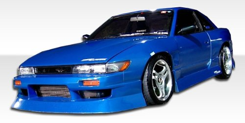 1989-1994 Nissan 240sx Silvia S13 Duraflex Type U Conversion - Includes S13 Conversion Type U Front Bumper (104589) , S13 Conversion M-1 Sport Fenders (100877), and S13 Conversion M-1 Sport Hood (102203). - Duraflex Body Kits
