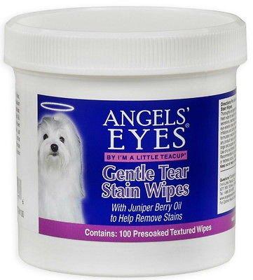 Angels' Eyes Gentle Tear Stain Wipes 100ct (Gentle Tear)