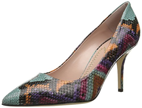 Moschino Cheap and Chic Women's Multi Colored Python S Dress Sandal, Multi, 39 EU/9 M US