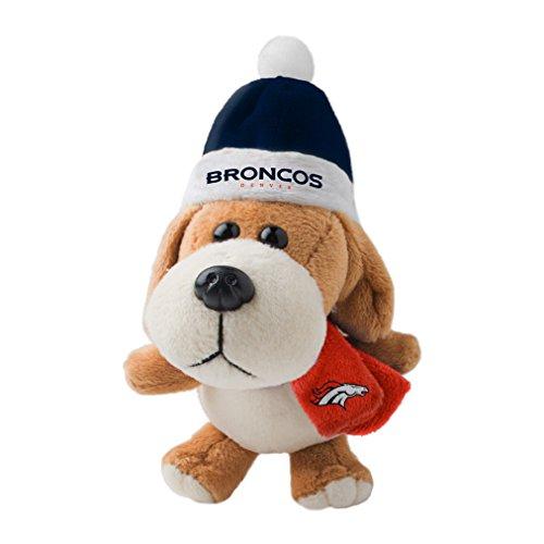 Broncos Plush Dog Ornament