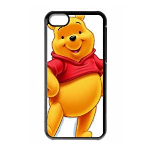 iPhone 5c Cell Phone Case Covers Black Many Adventures of Winnie the Pooh cpg fhez